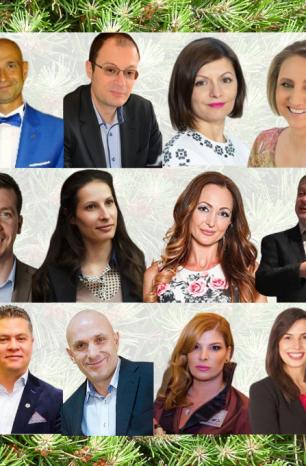 Вечнозелените лидери на BNI България за 2020-а